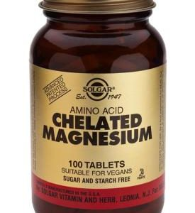Chelated Magnesium 100 Tablets