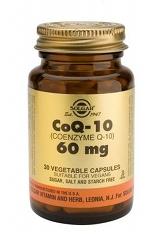 Coenzyme Q-10 60 mg - 30 Veg Caps