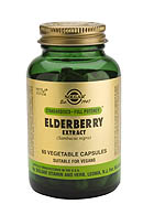 SFP Elderberry Berry Extract Vegetable Capsules (60)
