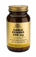 Garlic Powder 500 mg Vegetable Capsules