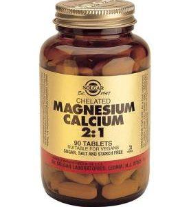 Chelated Magnesium Calcium 2:1 Tablets 90