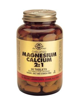 Chelated Magnesium Calcium 2:1 Tablets 90