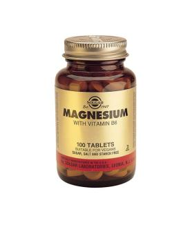 Magnesium with Vitamin B-6 100 Tablets