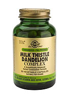 SFP Milk Thistle/ Dandelion Complex Capsules (50)