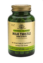 SFP Milk Thistle Herb Extract Vegetable Capsules (50)