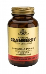 Natural Cranberry Extract Vegetable Capsules