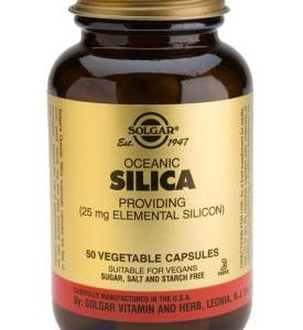 Oceanic Silica 25 mg Vegetable Capsules 50