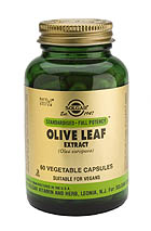 SFP Olive Leaf Extract Vegetable Capsules (60)