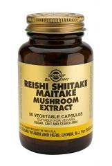 Reishi Shiitake Maitake Mushroom Extract 50 Caps