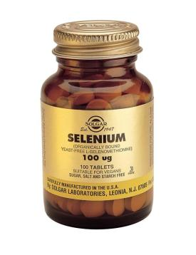 Selenium 100 mcg Tablets (Yeast Bound) 100