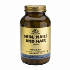 Skin, Nails and Hair - 120 Tablets