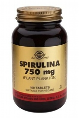 Spirulina 750 mg Tablets 100