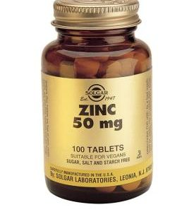 Zinc 50 mg Tablets 100