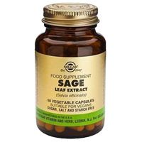 Sage Leaf Extract 60 Vegetable Capsules