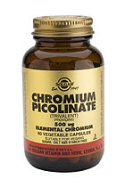 Chromium Picolinate 500 mcg Vegetable Capsules (60)