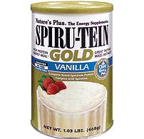 Vanilla SPIRU-TEIN Gold Shake (468g) Can