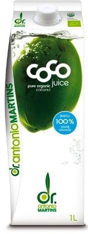 Organic Coconut Water 1 litre