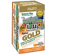 Animal Parade GOLD Children's Chewable Multi - Orange Flavor (60 tablets)