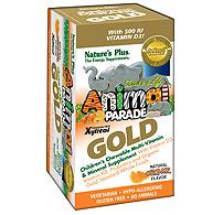 Animal Parade GOLD Children's Chewable Multi - Orange Flavor (60 tablets)