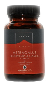 Astragalus, Elderberry & Garlic Complex