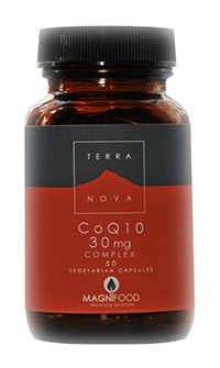 CoQ10 30mg Complex (available in 50 or 100 capsules)