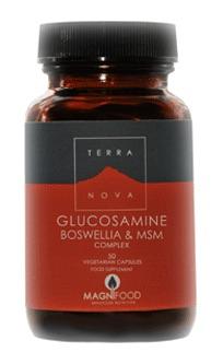 Glucosamine, Boswellia & MSM Complex (50 caps)