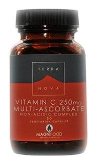 Vitamin C 250mg (multi-ascorbate complex) (non-acidic)