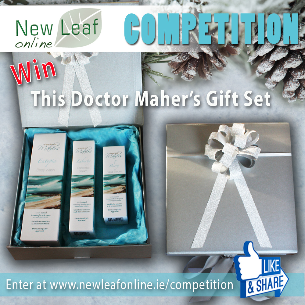 Win a Dr Mahers Christmas Gift Set