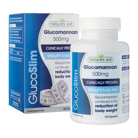glucoslim glucomannan